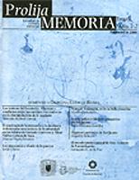 Cubierta Revista Prolija Memoria Primera Epoca